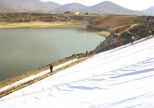 复合土工膜水库堤坝防渗